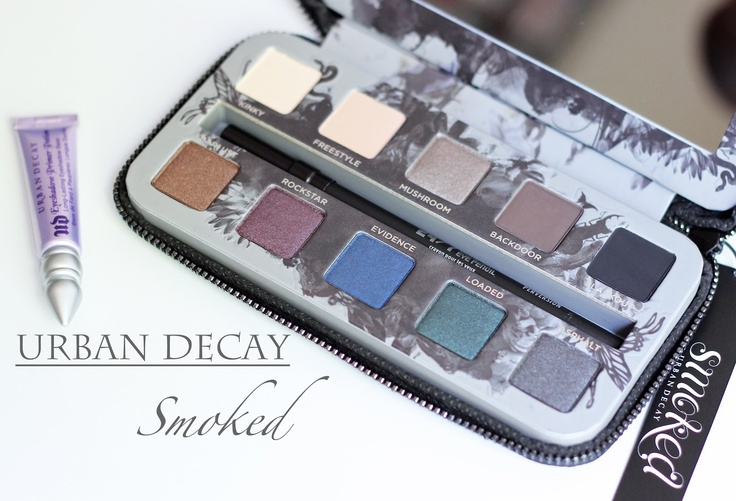 I want this!  Urban Decay's Smoked Palette.