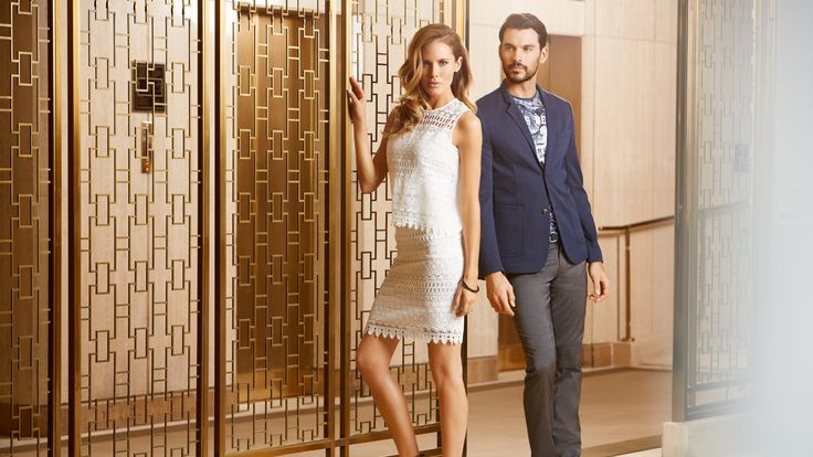 Terra Nostra - Collection printemps été 2015 #veston #marine #chic #terranostra #modehomme