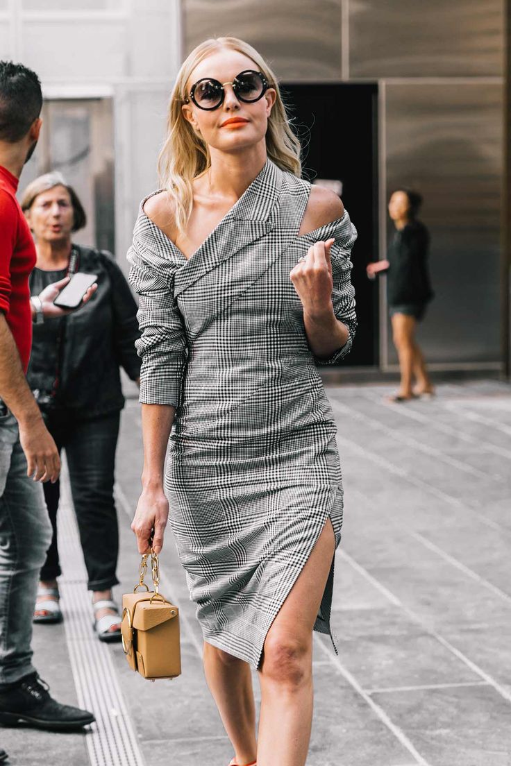 Kate Bosworth in Monse #NYFW #StreetStyle