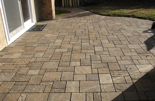 17 best images about pavers on pinterest stains for Getting stains off concrete