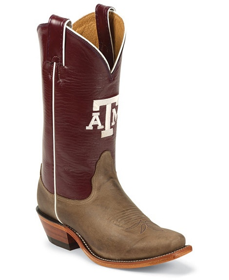Brilliant Nocona Womenu0026#39;s Texas A U0026 M Aggies Fashion Toe Cowgirl Boot Http//www.countryoutfitter.com ...