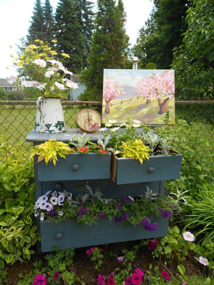 90 Deko Ideen Zum Selbermachen Für Sommerliche Stimmung Im Garten |  Dekoration | Pinterest | Stimmung, Deko Ideen Und 90er