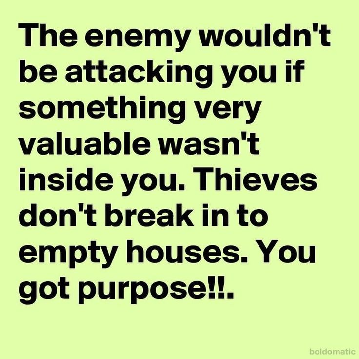 Be watchful of the enemy's subtle attacks.