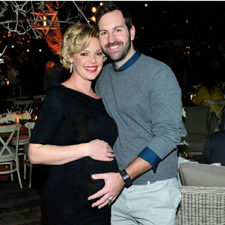 Katherine Heigl (pregnant) and Josh Kelley