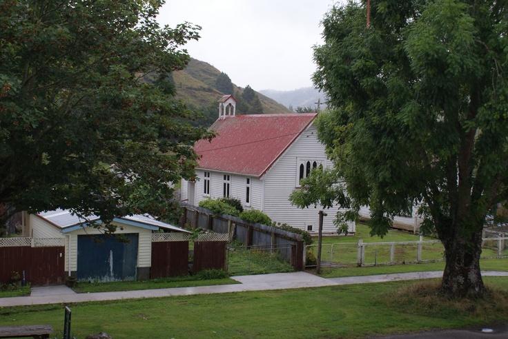 Whangamomona Church