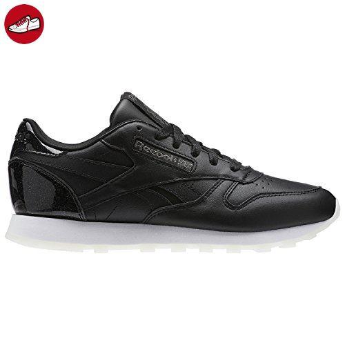 fff21c2cf573f ... Reebok Classic Leather Pearl Sneaker Damen Schuhe schwarz weiß - 5½ -  Reebok schuhe (  .