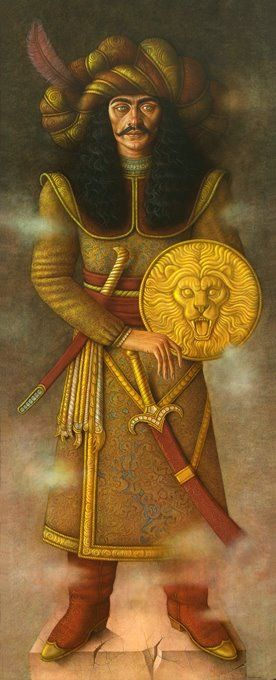 AstroSpirit / Leo ♌ / Fire / Hernán Valdovinos, 1948 ~ Magical Realism painter | Tutt'Art@