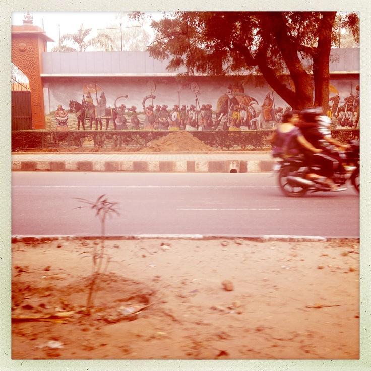Early morning in Delhi ...