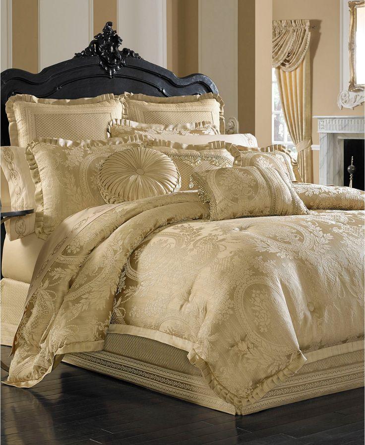 J queen new york napoleon gold king 4pc comforter set