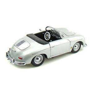 Kyosho (u4eacu5546) Porsche (u30ddu30ebu30b7u30a7) 356A Speedster 1/18 Sil…