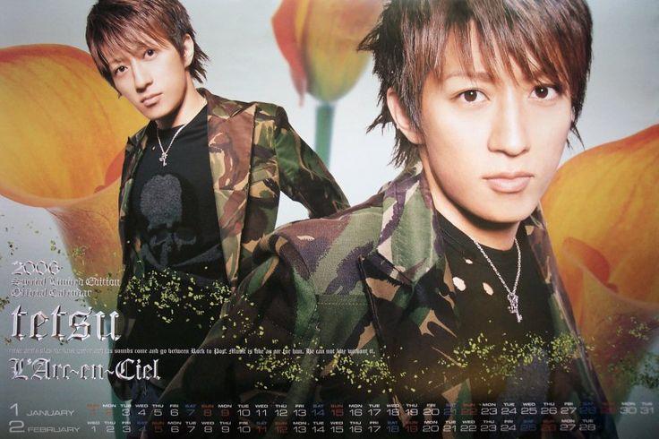 2006 tetsuya Source: L'Arc~en~Ciel official calendar 2006