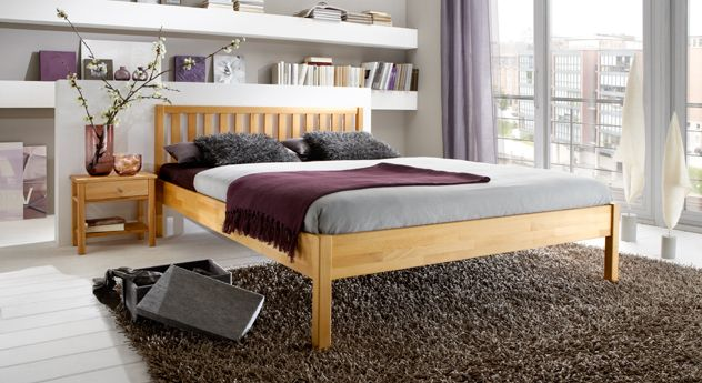 Poco Domane Betten 140x200 Bett Mit Matratze Und