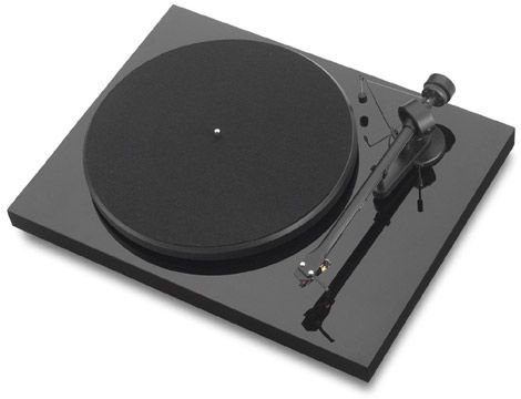 Pro-Ject turntables are manufactured in the Czech town of Litovel. They are in the business of supplying and reviving a love for vinyl music by building classic turntables. They offer a wide range of musical hardware for any budget. This piece is the Debut III. An uncluttered minimal yet exquisite design.
