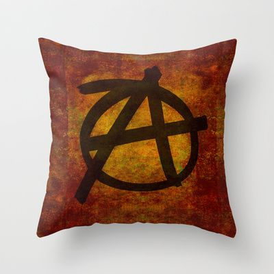 Distressed Anarchy Throw Pillow by Bruce Stanfield - $20.00Distressed Anarchy Art Print by Bruce Stanfield ed, war, art, sign, dark, icon, wall, free, anti, punk, rough, chaos, black, shape, youth, symbol, design, grungy, sketch, grunge, culture, liberty, graphic, freedom, drawing, texture, anarchy, politics, graffiti, movement, anarchist, anarchism, different, political, government, revolution, background, illustration, sub culture, establishment, anti establishment #Anarchy