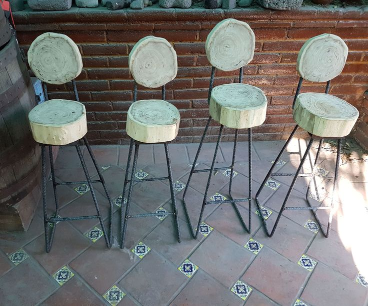 "EnglishHi everybody this time I build this cheap stools from upcycled wood, I always wanted to do something including industrial elements I think this type of furniture its called ""brutalism"" . This project come with some challenges that i will explain in the way.They are dirt cheap to make, you don't need many tools, you can build them in one day , and because they are some kind of rustic don't have to be perfect that's the beauty.Also I dont know why I build ba..."