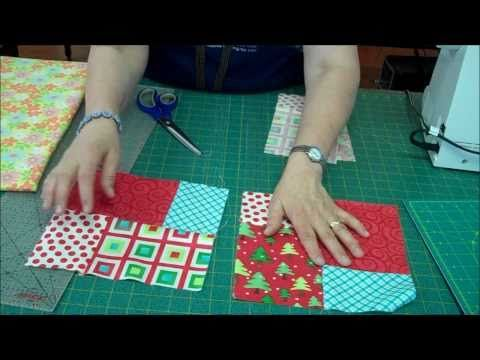 Jenny from the Missouri Star Quilt Company teaches you how to make a Double Slice Layer Cake Quilt. Great for beginners or anyone looking for a quick and easy project.