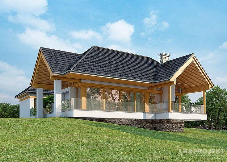 Projekty domów LK&Projekt LK&1116 wizualizacja 5