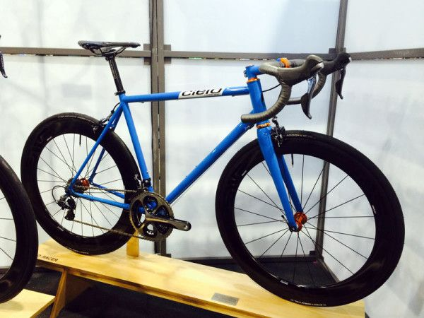 NAHBS 2014: Cielo Adds Road Racer Bike, Plus New Stems & Colors