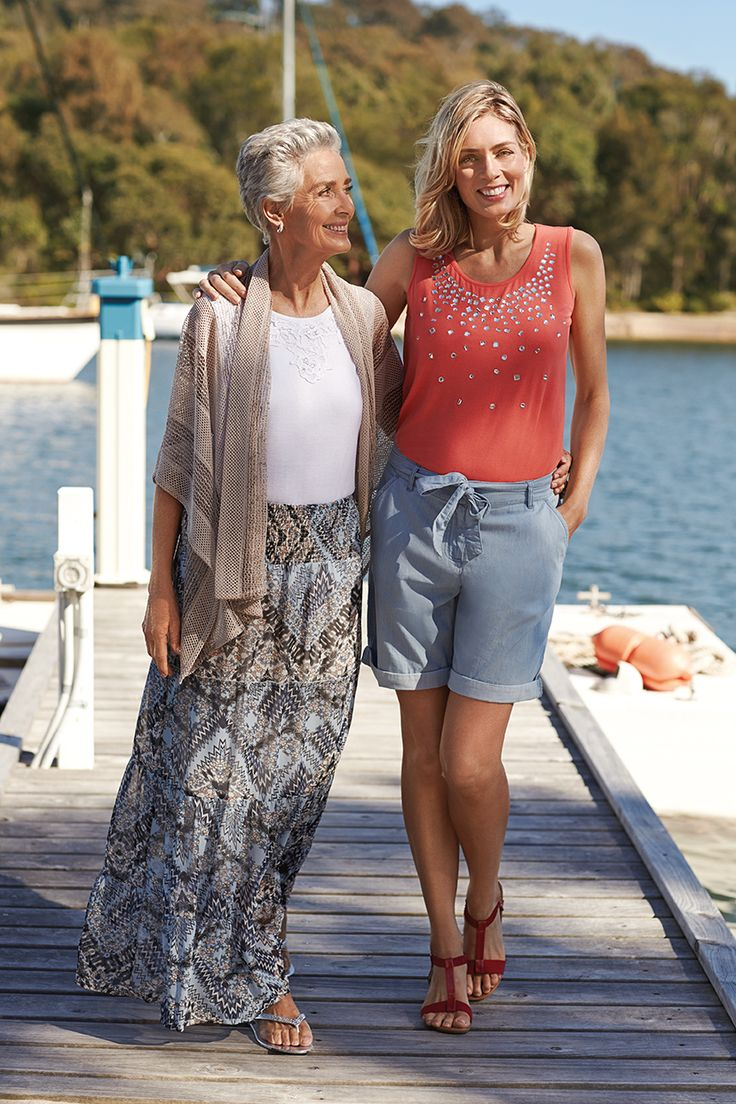 Style at any age. Our summer basics are great for casual everyday wear.
