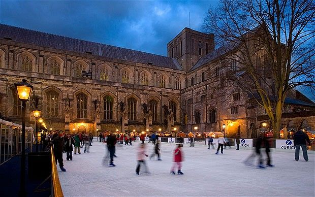 Winchester Cathedral Christmas Market and Ice Rink, opens November.Winchester, Christmas Markets, Ice Rink, Places I D, Cathedral Christmas, Pre Christmas Weekend, Ice Skating, Christmas Events, Christmas Marketing