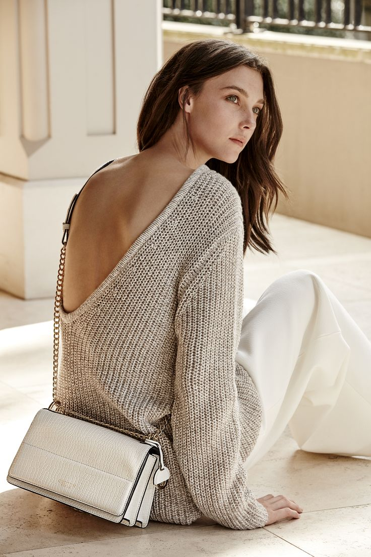 Oroton Forte Texture Clutch Bag in White Gloss