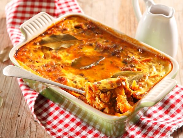 Vegetarian bobotie • Who says you need meat to enjoy this sweet and savoury traditional dish?