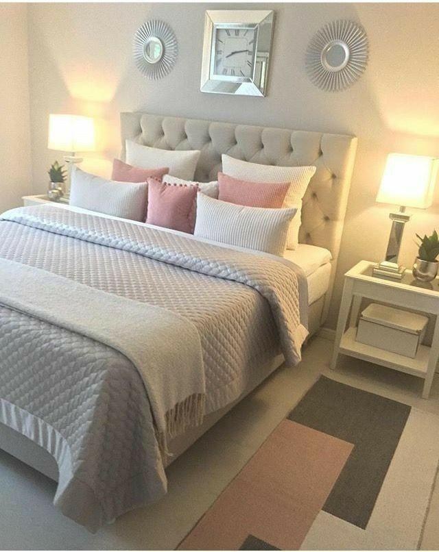 Substitute Blue Instead Of Pink Bedroom Decor For Couples Small