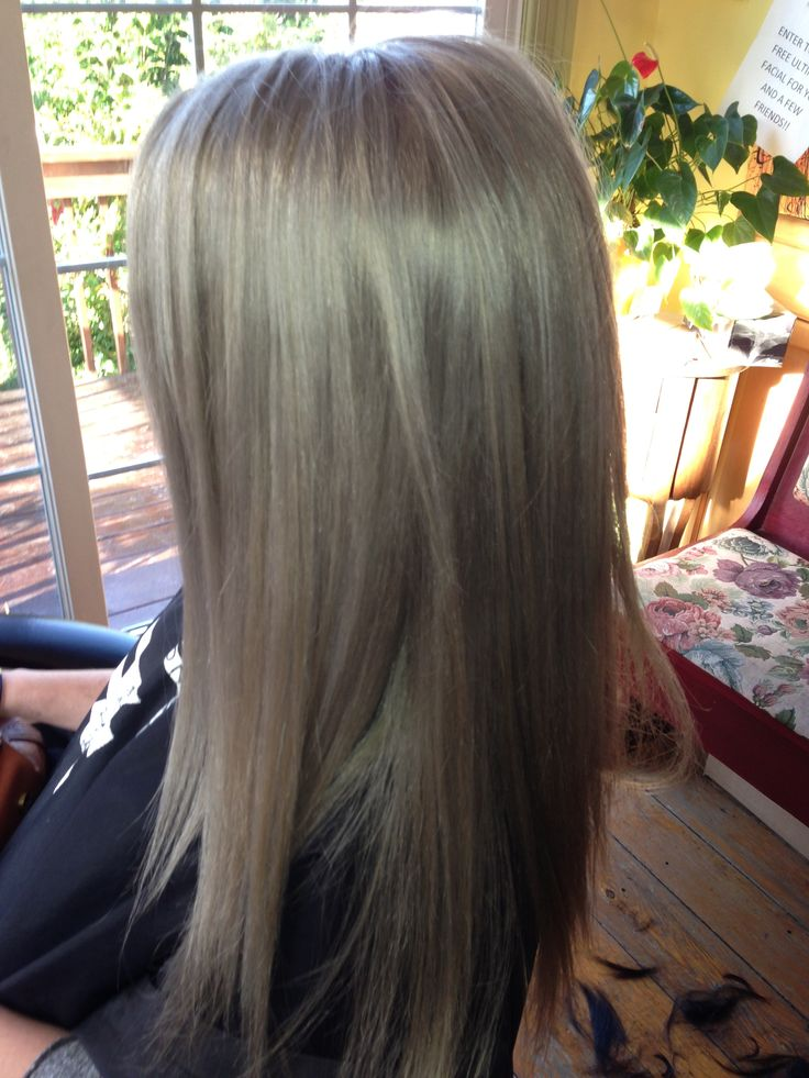 Blonde Grey Toned Hair Hair Styles Pinterest