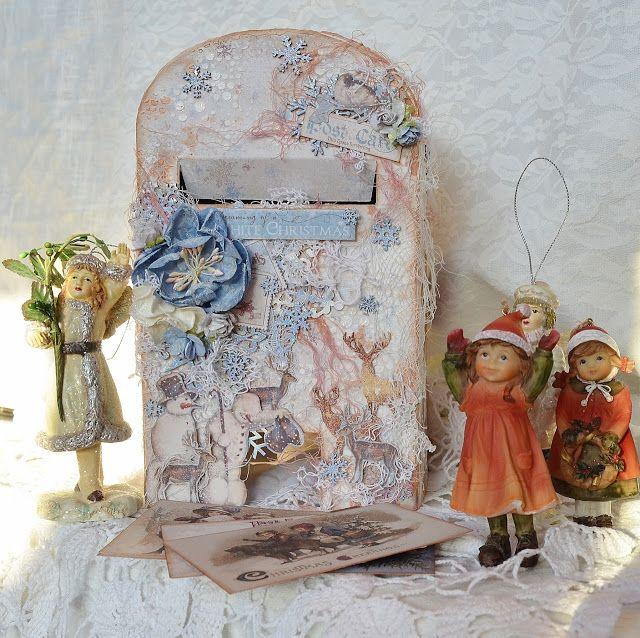 Marina Timofeeva: Ящик для писем Деду Морозу
