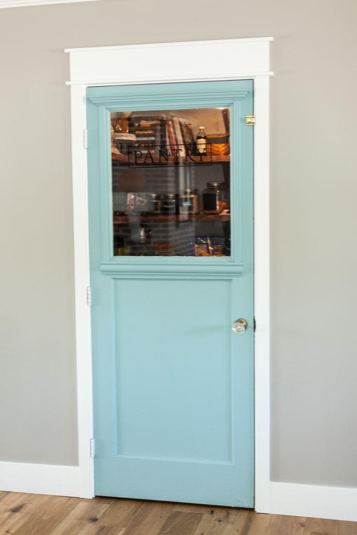 Custom Mint Pantry Door By Rafterhouse Rafterhouse