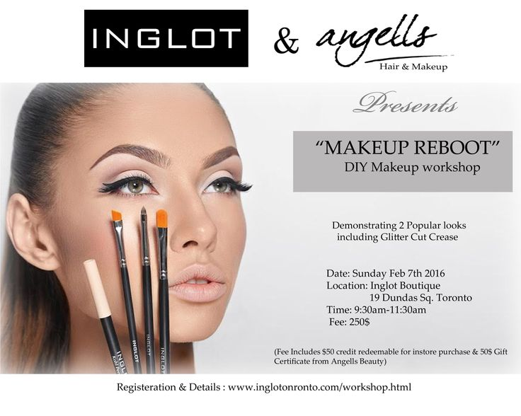 Don't know which is the right foundation for you?  Is it always too dark Or too ashy??  Wonder how that cut crease was blended so perfectly Don't miss this opportunity where you get to use,explore and feel all Inglot products.  This is the workshop you should attend.  ........Limited Seats.........