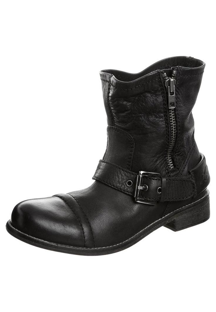 Cowboylaarzen / Motorlaarzen - Zwart