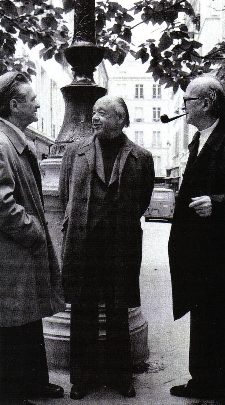 Cioran — Ionesco — Eliade