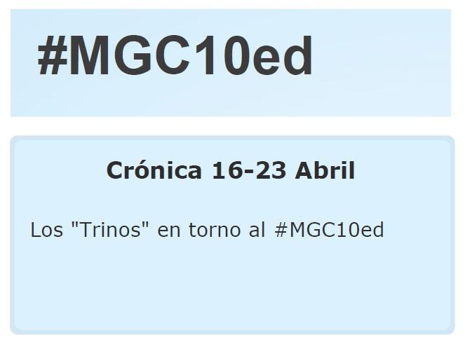 """Los """"Trinos"""" del 16 al 23 de abril"""