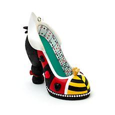 Mini chaussure décorative Reine de Coeur