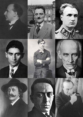 Prague German language literature - Oskar Baum, Max Brod, Franz Janowitz, Franz Kafka, Paul Leppin, Gustav Meyrink, Hugo Salus, Ernst Weiss, Franz Werfe