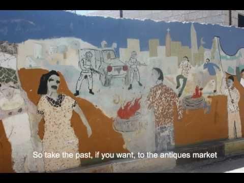 Palestine Digital Poetry: Those Who Pass Between Fleeting Words