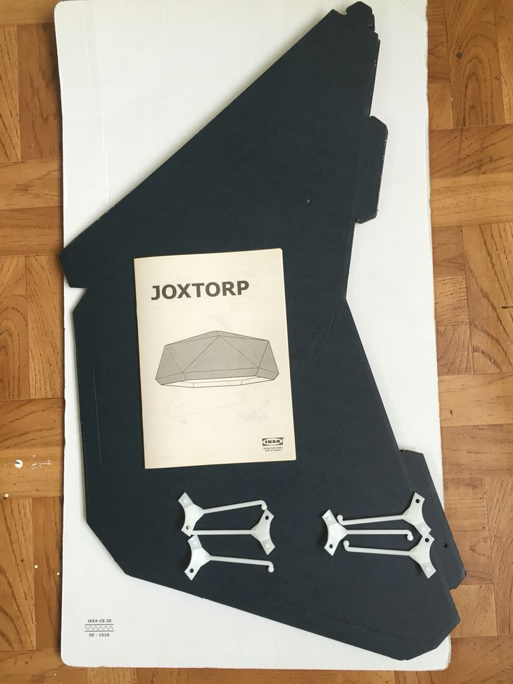 Joxtorp by ikea Looks scary to put it together. =p but should be super stylish.