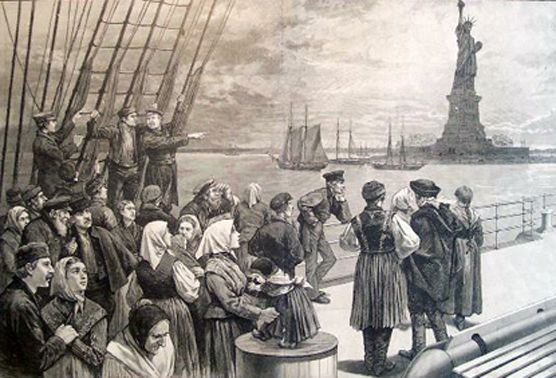 The Immigrant's Statue - Statue Of Liberty National Monument (U.S. ...