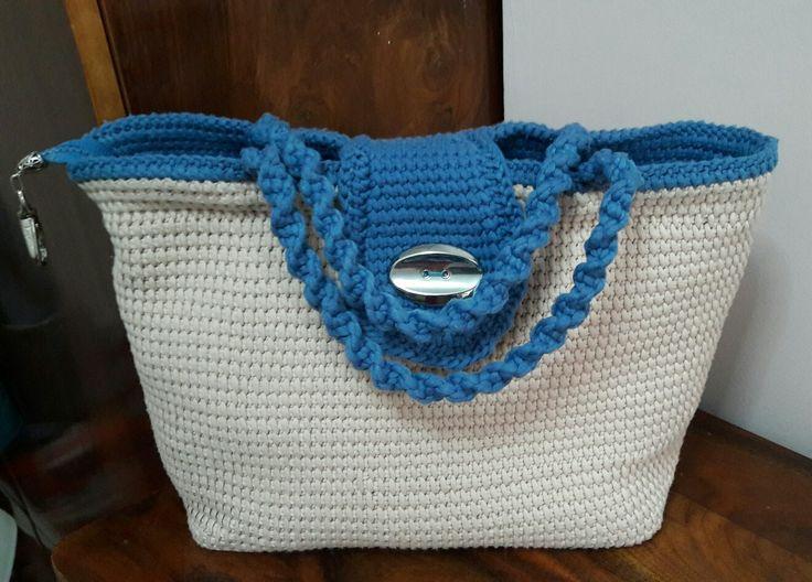 Tunus örgüsü çanta