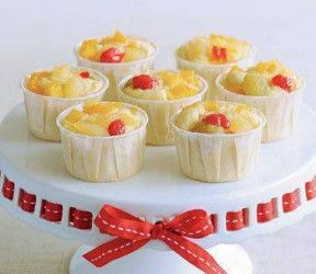 Fruitcocktail muffins recept
