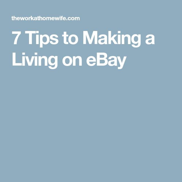 10 best Ebay images on Pinterest Ebay tips, Selling online and