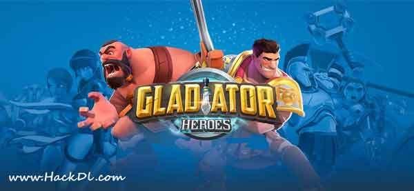 Gladiator Heroes Clan War Games Mod Apk Hero Gladiator Clan