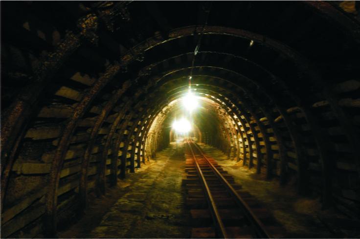 Kopalnia węgla w Nowej Rudzie, Dolny Śląsk