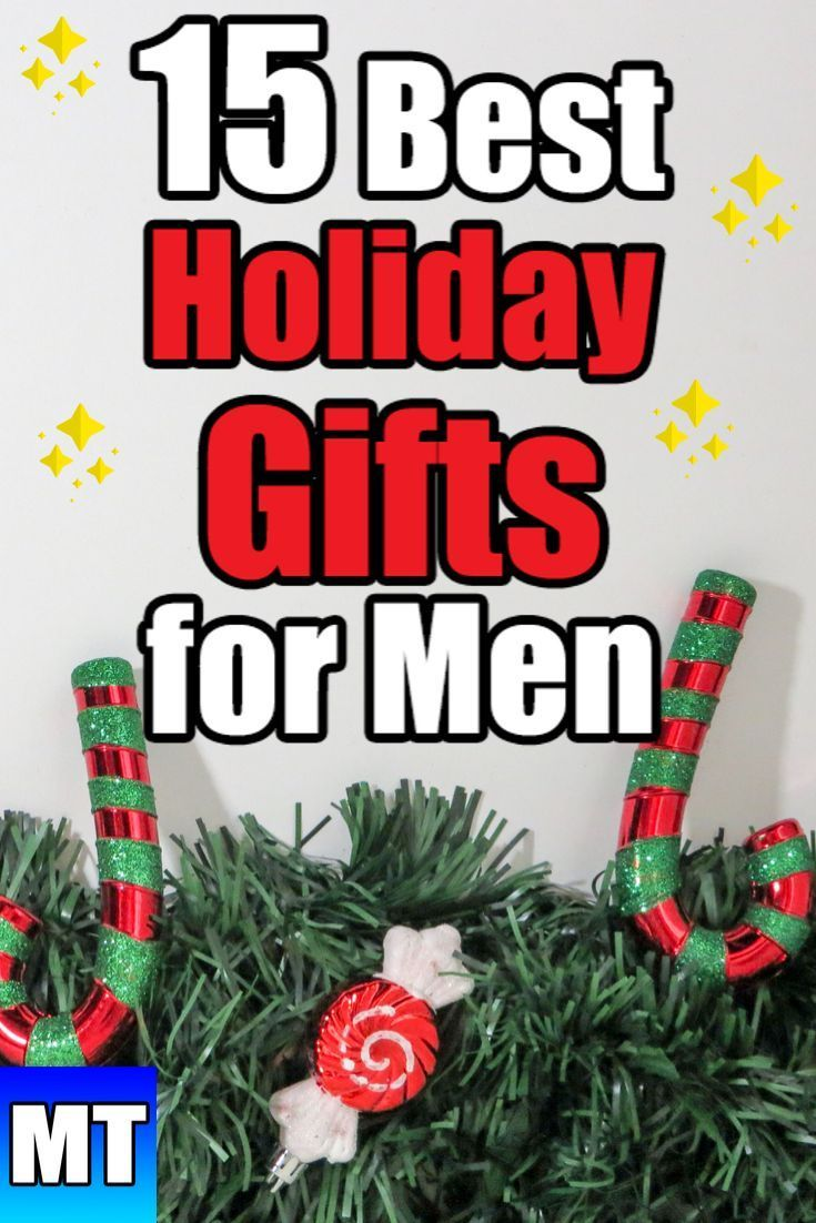 15 Best Holiday Gifts You Have To Get Your Man Christmas Gift For Men Holiday Gifts For Men Hannukah Gift Holiday Gifts