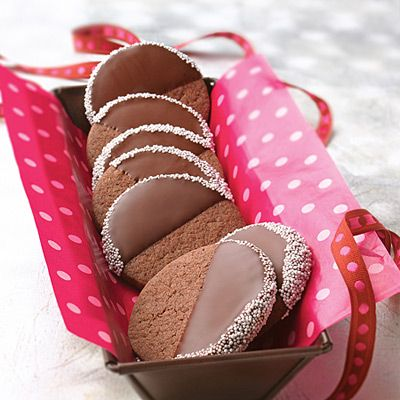 Chocolate-Dipped Cut-Outs