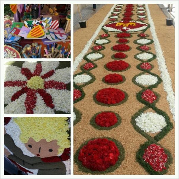 Corpus Sitges, alfombras florales