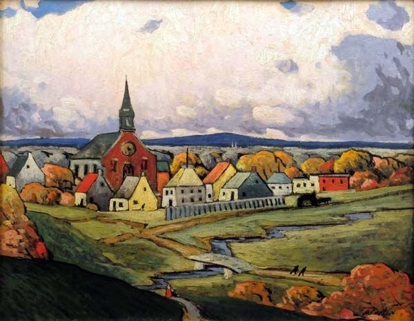 Paysage de Montréal Nord (c. 1924) - Marc-Aurèle Fortin