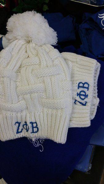 Zeta Phi Beta Warm hat