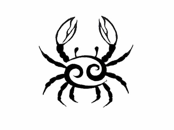 cancer zodiac tattoos - Google Search. Like mine the ram horns :) Aries :) can I emphasize the word WANT. Well can't have :) by alexandra